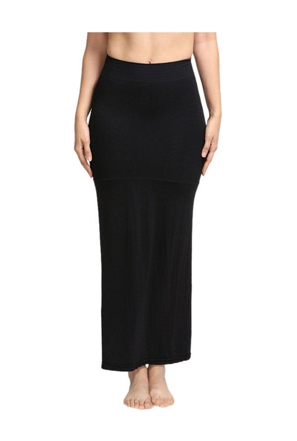 Zivame Black Polyamide Mermaid Saree Skirt