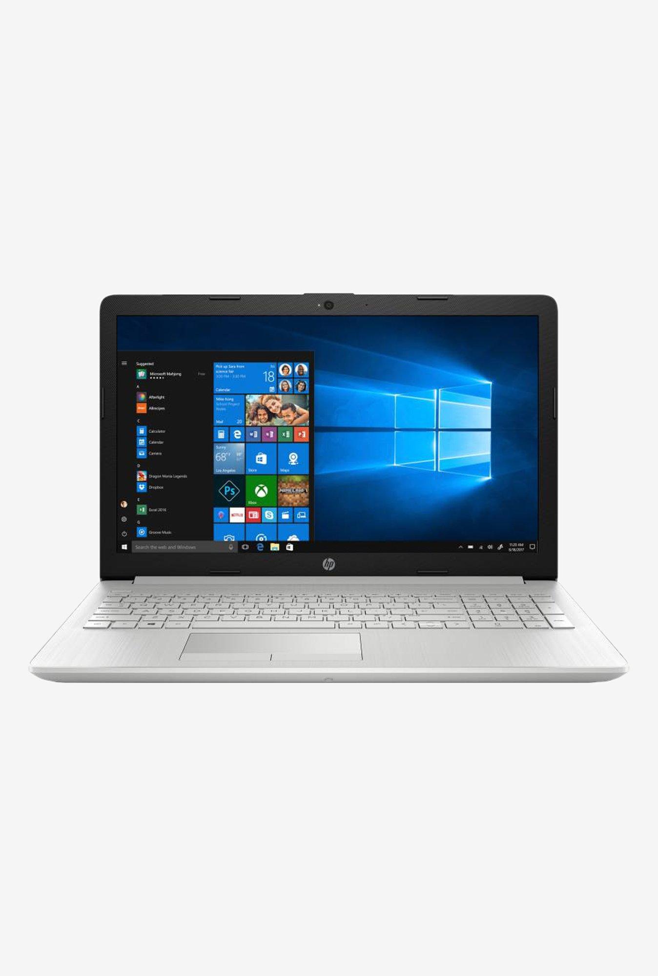 HP Notebook DA0327TU (i3 7th Gen/4GB/1TB/15.6 inch/Windows 10 + MS Office/INT/1.77 kg) Silver