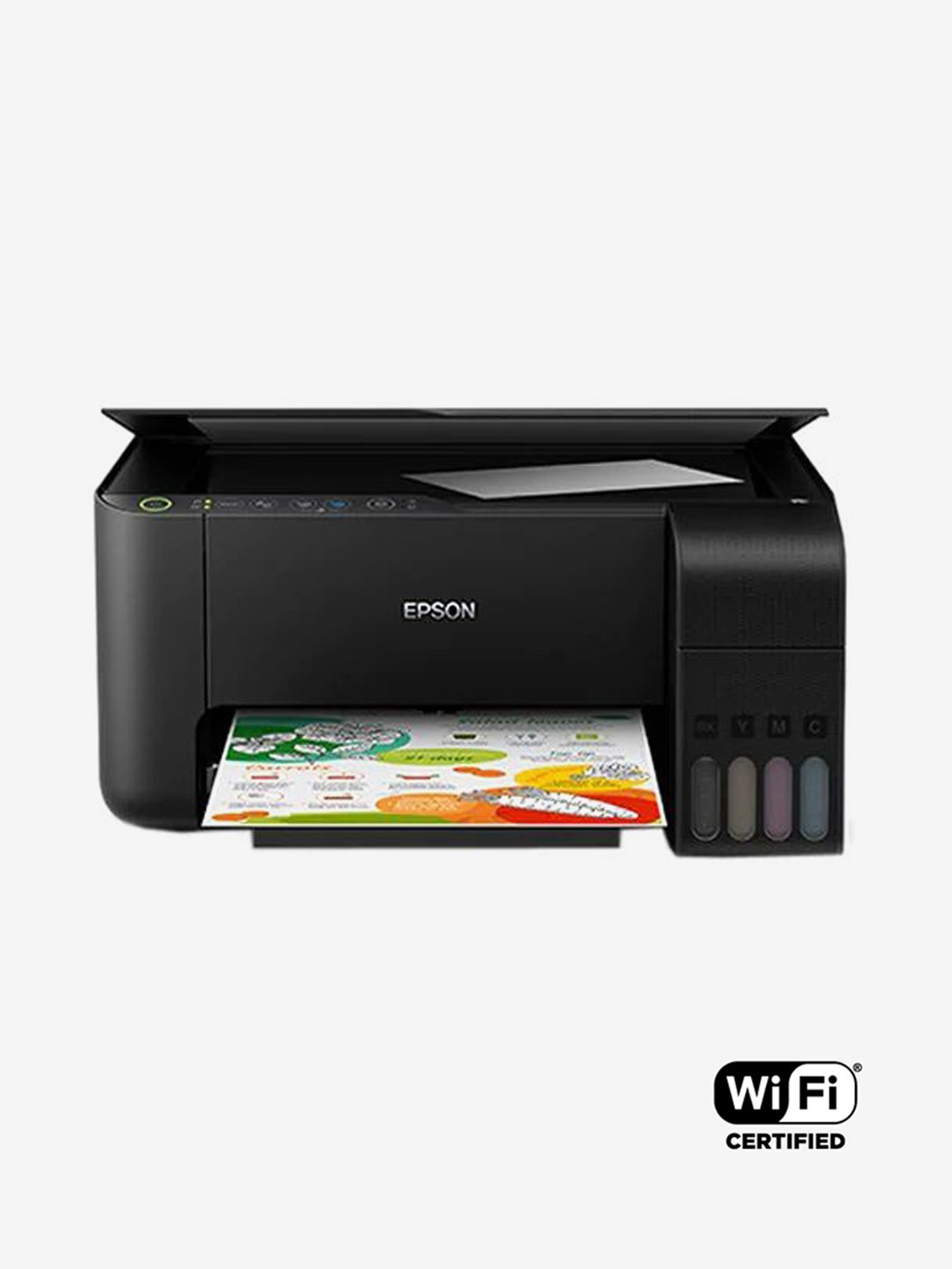 Epson EcoTank L3150 Multi-Function Wi-Fi AIO Ink Tank Printer (Black)
