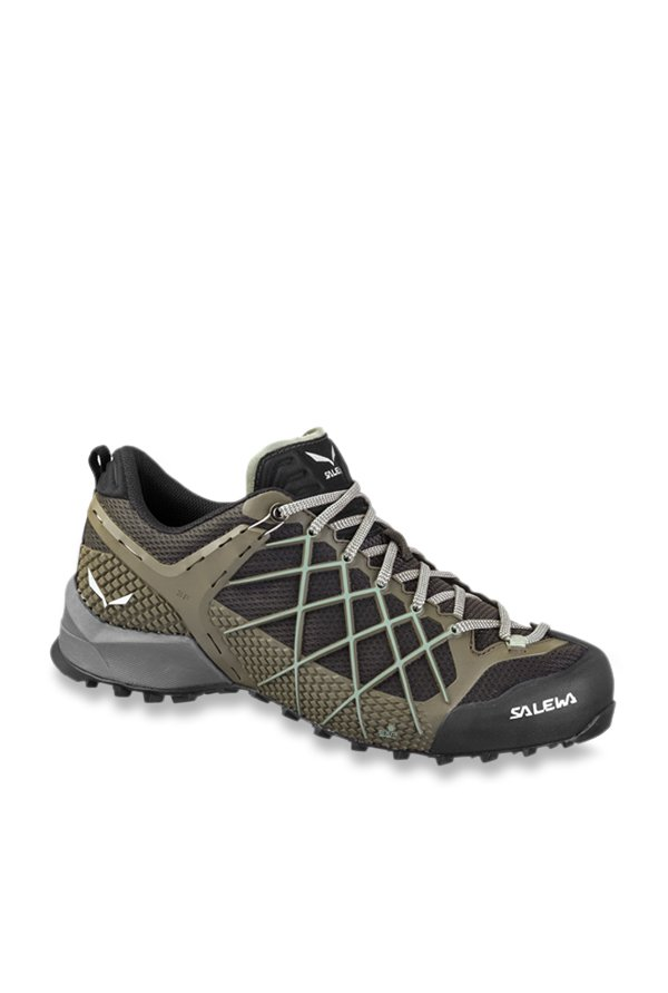 Salewa MS Wildfire Black & Grey Hiking Shoes