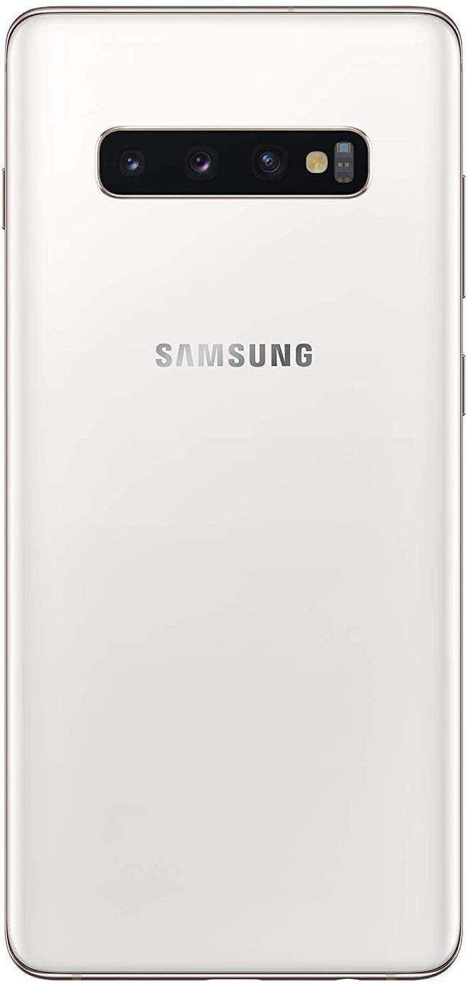 (Renewed) Samsung Galaxy S10 Plus Ceramic White, 12GB RAM, 1TB Storage