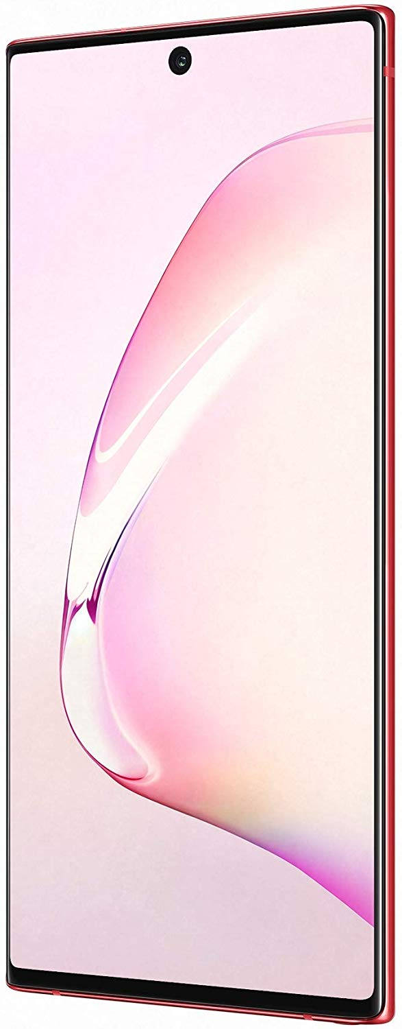 Samsung Galaxy Note 10 (Aura Red, 8GB RAM, 256GB Storage) with No Cost EMI/Additional Exchange Offers