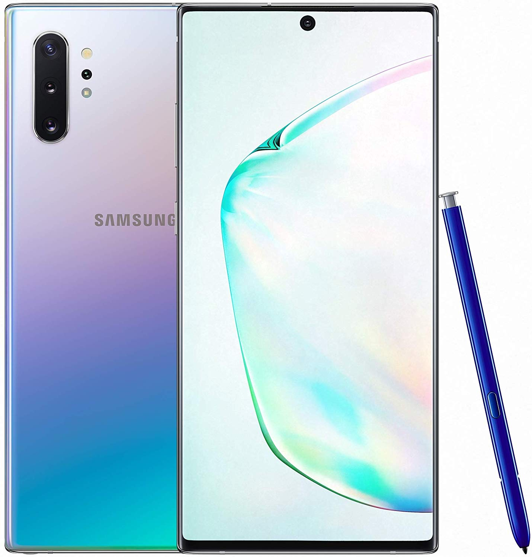Samsung Galaxy Note 10+ (Aura Glow, 12GB RAM, 256GB Storage) with No Cost EMI/Additional Exchange Offers