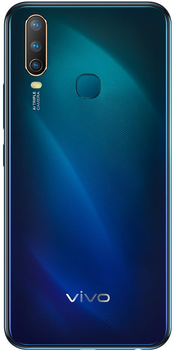 Vivo U10 (Electric Blue, 5000 mAH 18W Fast Charge Battery, 3GB RAM, 32GB Storage)