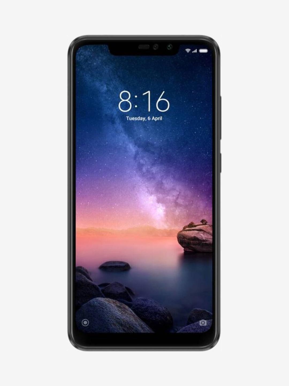 Xiaomi Redmi Note 6 Pro 64 GB (Black) 6 GB RAM, Dual SIM 4G