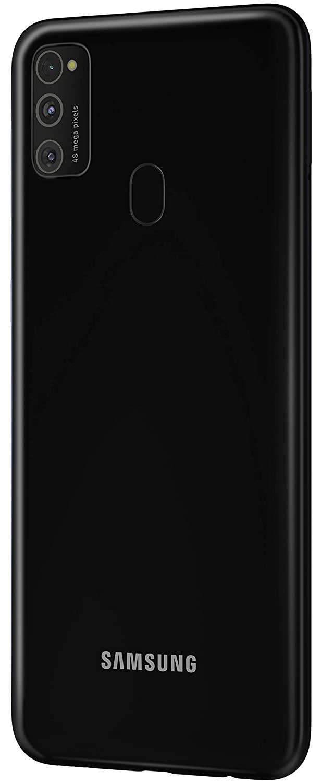 Samsung Galaxy M21 (Raven Black, 4GB RAM, 64GB Storage)