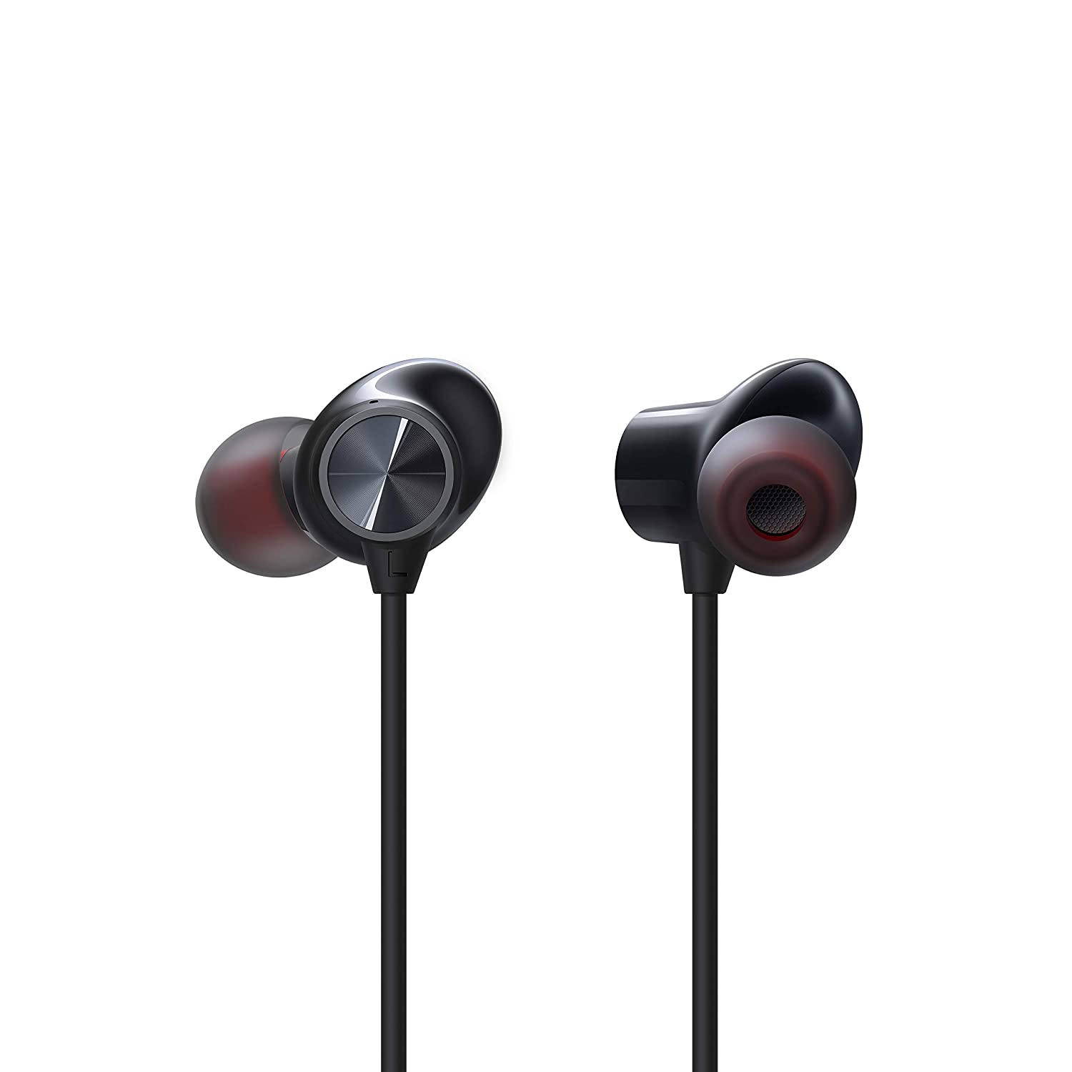 OnePlus Bullets Wireless Z in-Ear Bluetooth Earphones with Mic (Black)